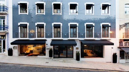 The Mercy Hotel in Lisbon, where you can find the Umai restaurant as well.