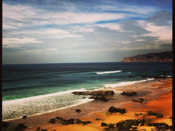 Stunning scenery at Guincho beach
