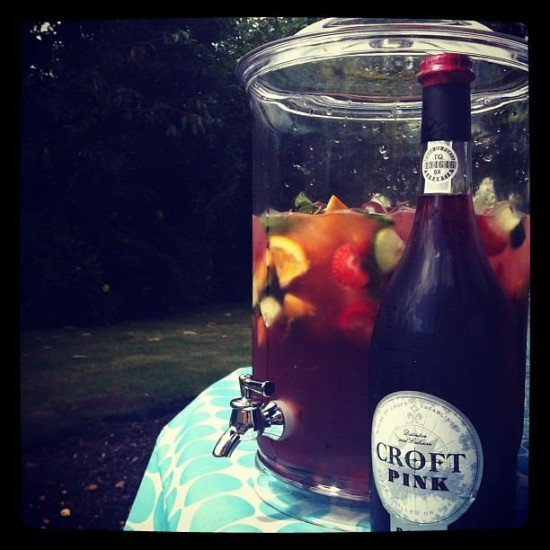 I love Rose Port sangria!