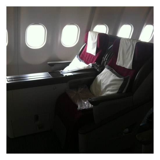 The business class seat